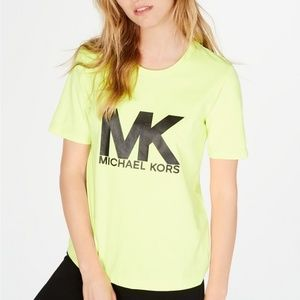 New Michael Kors logo T-Shirt Size S
